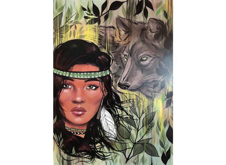 Sage & wolf medecine - Jay Soule