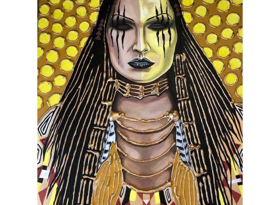 Yellow Medicine Woman - Riel Benn