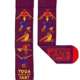 FREAKER Yoga Makes Me Fart Ski Sock