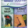 NIKWAX NIKWAX TECH WASH & TX DIRECT WHAS IN DUO-PACK