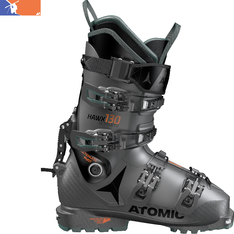 reputable site fa3b0 690b1 ATOMIC Hawk Ultra XTD 130 Ski Boot 2019/2020 Anthracite/Green/Black