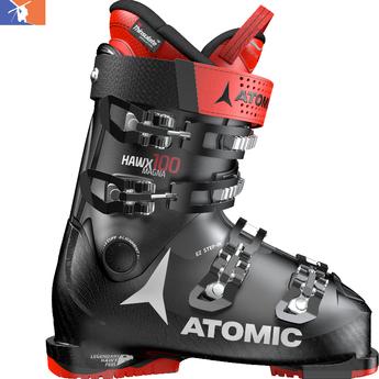 ATOMIC Hawx Magna 100 Ski Boot 2019/2020 Black/Red