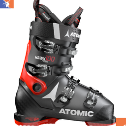 ATOMIC Hawx Prime 100 S Ski Boot 2019/2020 Black/Red