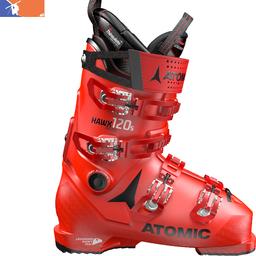ATOMIC Hawx Prime 120 S Ski Boot 2019/2020 Red/Black