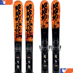 K2 Juvy Junior Ski With FDT 4.5 Binding 2019/2020