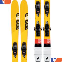 K2 Mindbender Junior Ski With FDT 7.0 Binding 2019/2020