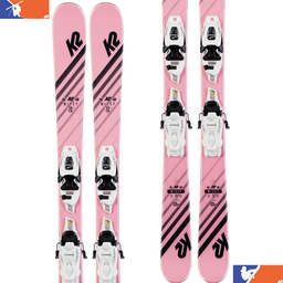K2 Missy Junior Ski With FDT 4.5 Binding 2019/2020
