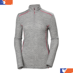 HELLY HANSEN Merino Mid Graphic Womens 1/2 Zip  2019/2020
