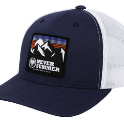 NEVER SUMMER RETRO MOUNTAIN MESH ADJUSTABLE HAT 2019/2020