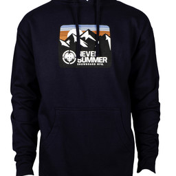 NEVER SUMMER Retro Mountain Pullover Hoodie 2019/2020