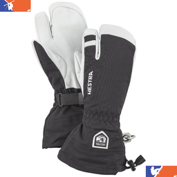 HESTRA Army Leather Heli 3 Finger Glove 2019/2020
