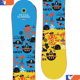 NEVER SUMMER Shredders Jr. Snowboard 2020/2021