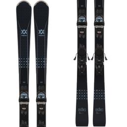 VOLKL Flair 76 Womens Ski with VMOTION 10 GW LADY Binding 2021/2022