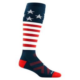DARN TOUGH Captain Stripe OTC Lightweight Jr. Sock (1846) 2021/2022