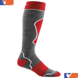DARN TOUGH MERINO WOOL PADDED OVER THE CALF SKI SOCK 2017/2018