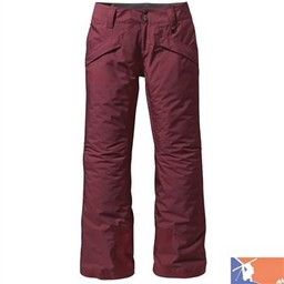 PATAGONIA PATAGONIA Insulated Snowbelle Pants-Regular-Women's 2015/2016 - S - Red Fudge