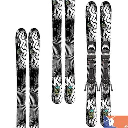 K2 K2 Indy Jr Skis with 4.5 Binding 2015/2016 - 76
