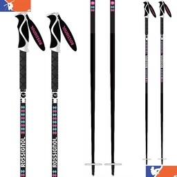 ROSSIGNOL SKI DOUBLE DIAMOND PRO SKI POLES - WOMENS' 2016/2017