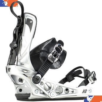 K2 CINCH TRYST WOMENS SNOWBOARD BINDING 2018/2019 SILVER