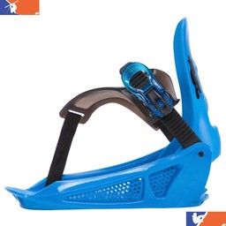 K2 MINI TURBO JUNIOR SNOWBOARD BINDING 2018/2019 BLUE