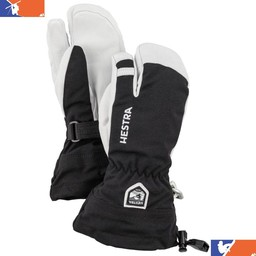 HESTRA ARMY LEATHER HELI JUNIOR 3-FINGER GLOVE 2018/2019