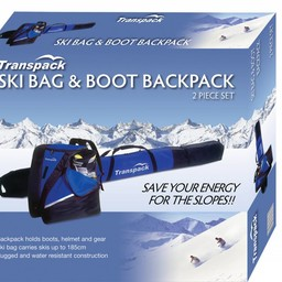 TRANSPACK ALPINE 2 PIECE BOX SET SKI BAG 2018/2019
