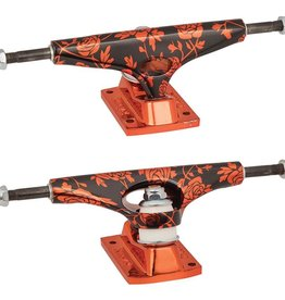 KRUX TRUCKS 8.00 CHROME ROSE RED