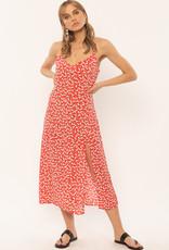 Amuse Society AMUSE SOCIETY MAI SLIP WOVEN DRESS