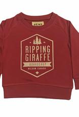 RIPPING GIRAFFE YTH RGB HEMP GIRAFFE CREW