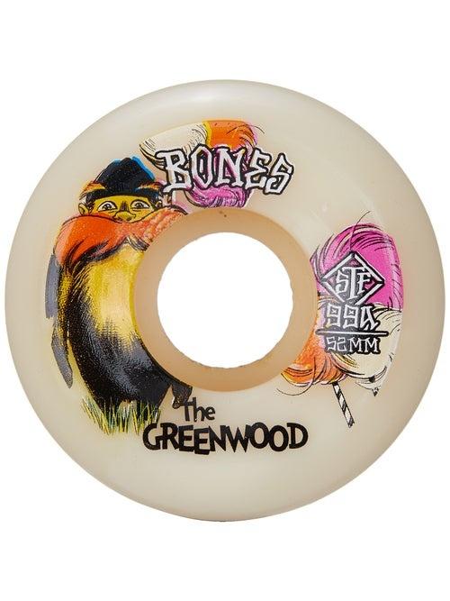Bones Wheels BONES STF GREENWOOD 52MM 99A