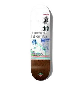 Girl Skateboards CHOCOLATE TERSHY STEVEDORE DECK 8.5