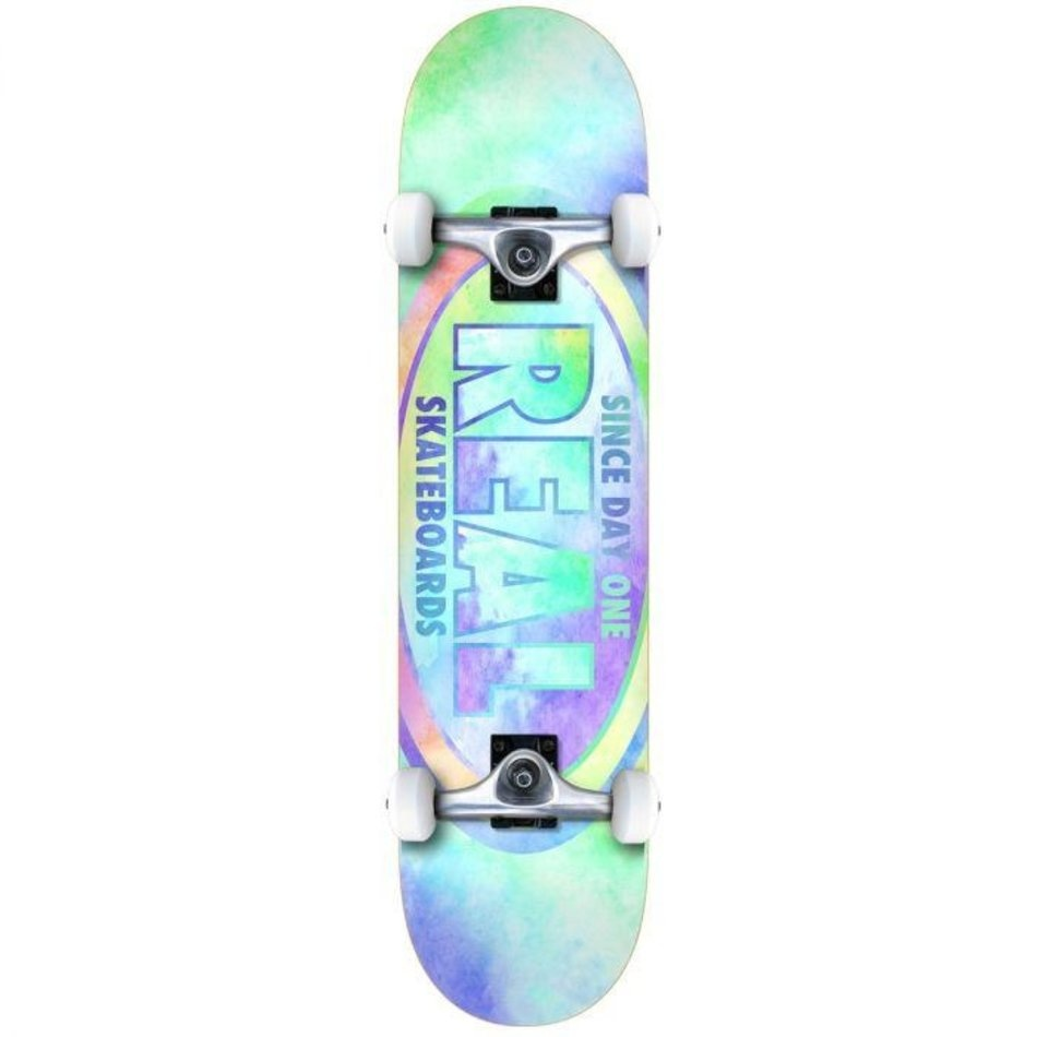 Real Skateboards REAL OVAL TIE DYES MD 7.75 COMPLETE