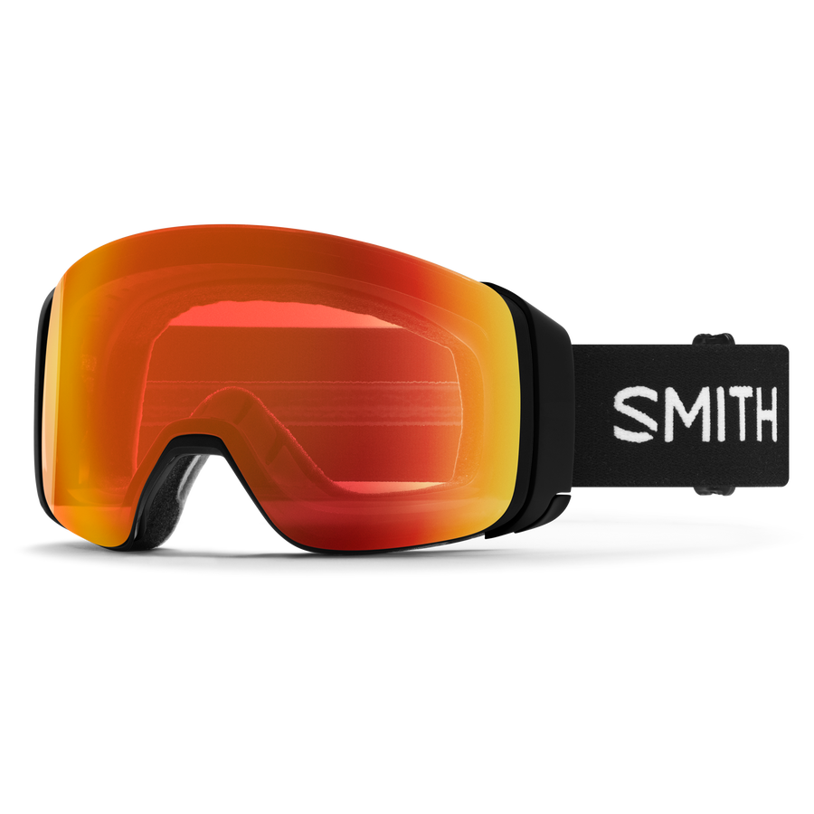 SMITH OPTICS SMITH 4D MAG BLK CPE RED