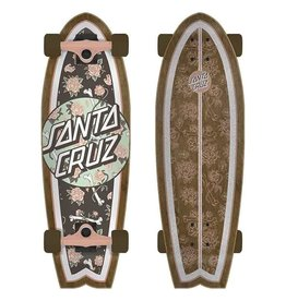 Santa Cruz CRUZ SHARK FLORAL DECAY 8.8
