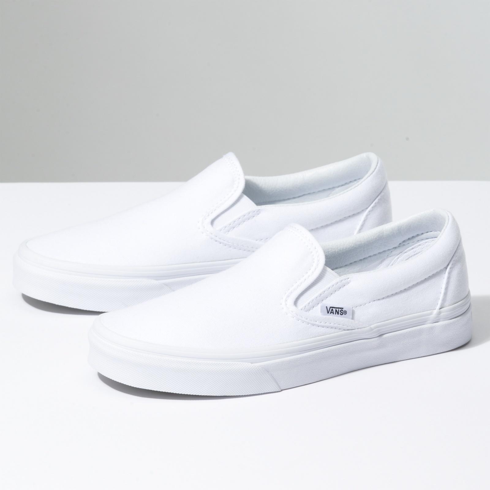 Vans VANS CLASSIC SLIP-ON TRUE WHITE