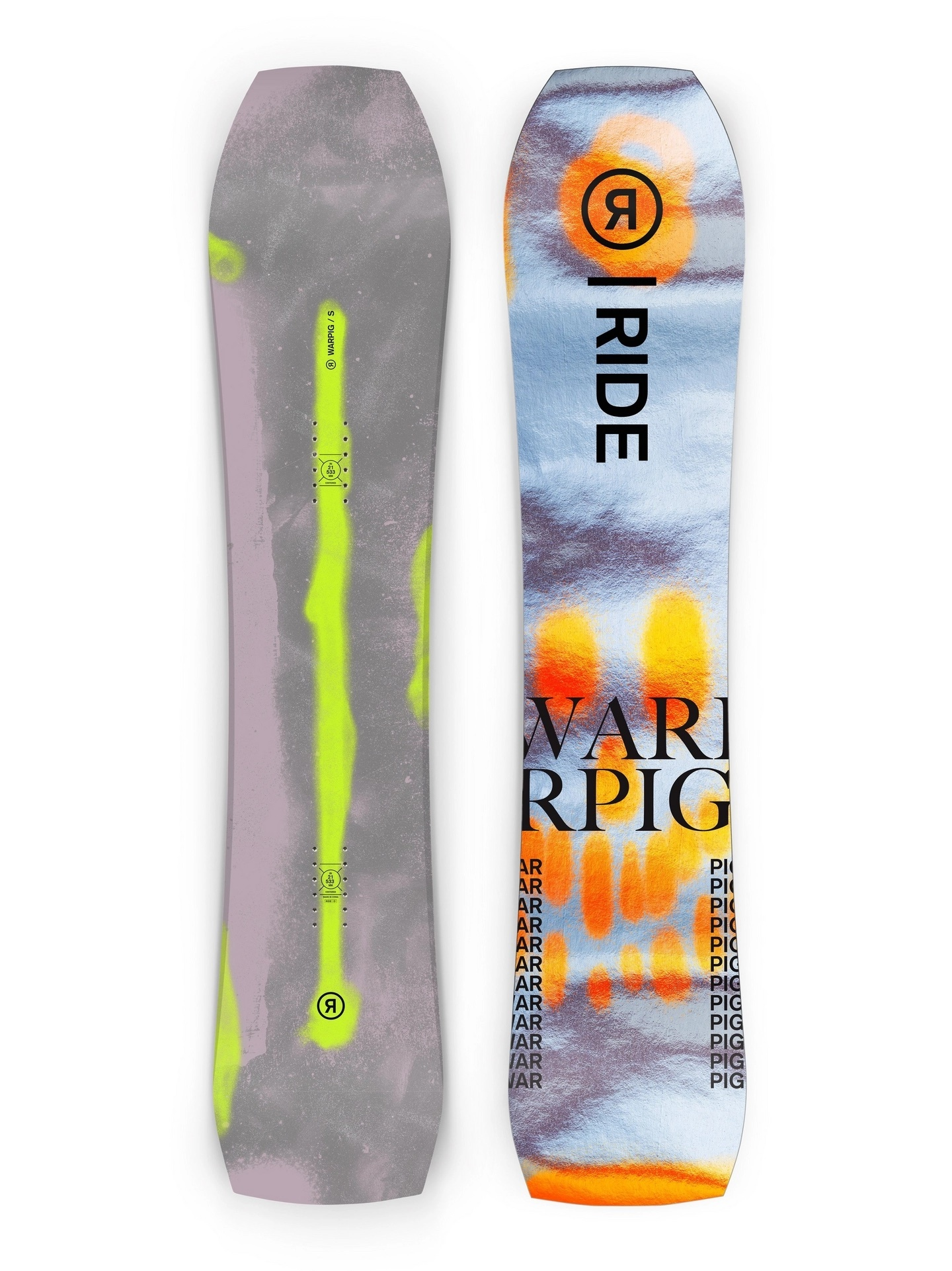 RIDE SNOWBOARDS RIDE WARPIG LARGE 154