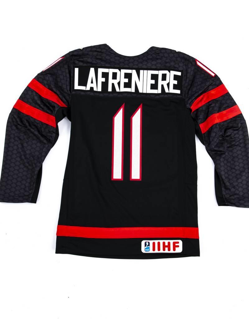 nike Nike Team Canada #11 LAFRENIERE Replica Jersey