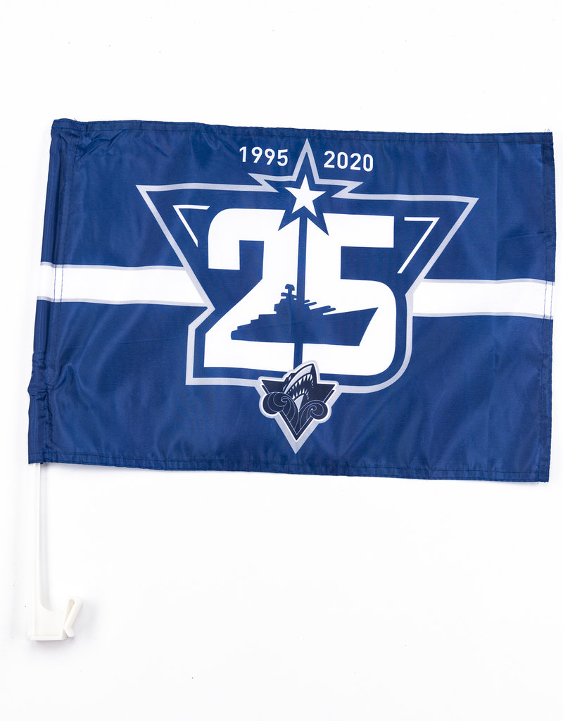25th Anniversary Car Flag