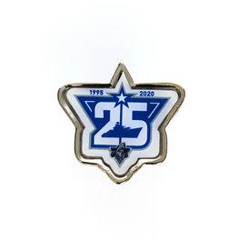 CFGL Métaux Épinglette 25e anniversaire