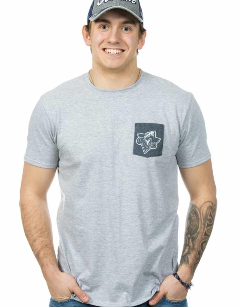 T-shirt à poche pour homme