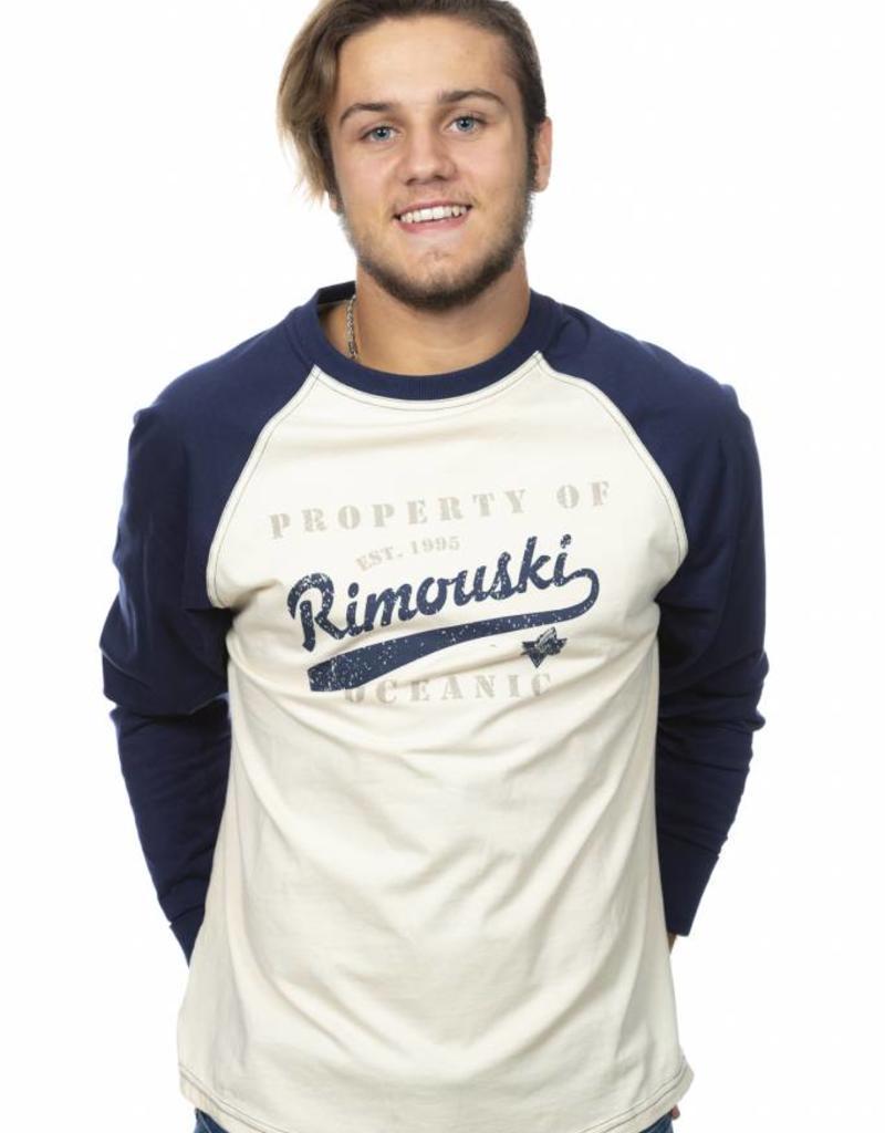 Bardown T-shirt baseball manches longues  - Unisexe