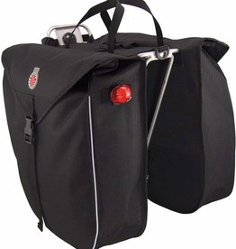 Banjo Brothers Saddlebag Panniers: Black, Pair