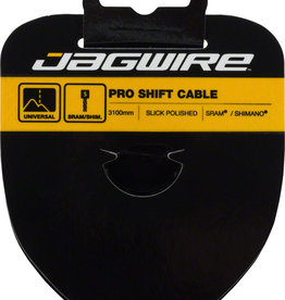 Jagwire Pro Shift Cable - 1.1 x 3100mm, Polished Slick Stainless Steel, For SRAM/Shimano