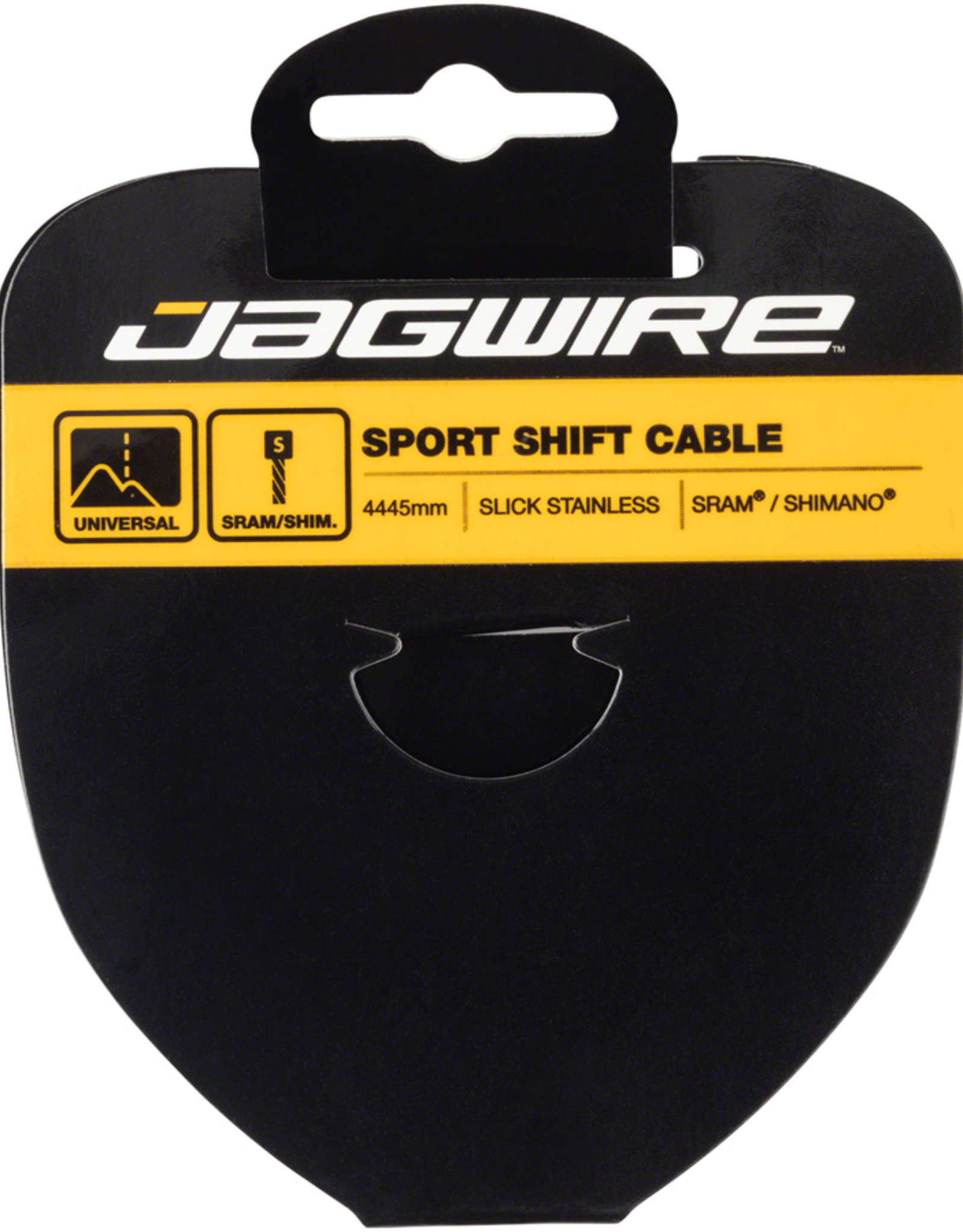 Jagwire Sport Derailleur Cable Slick Stainless 1.1x4445mm SRAM/Shimano Tandem