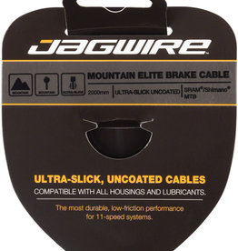 Jagwire Elite Ultra-Slick Brake Cable 1.5x2000mm Polished Slick Stainless SRAM/Shimano MTB