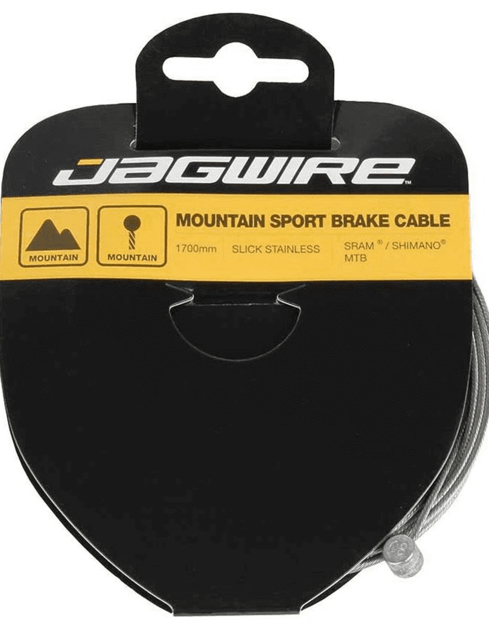 Jagwire Sport Brake Cable Slick Stainless 1.5x1700mm SRAM/Shimano Mountain