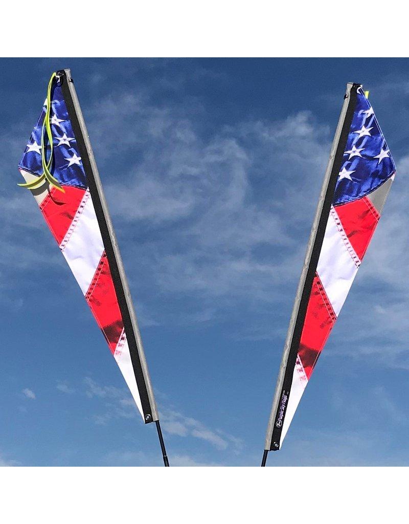 Purple Sky USA Flag