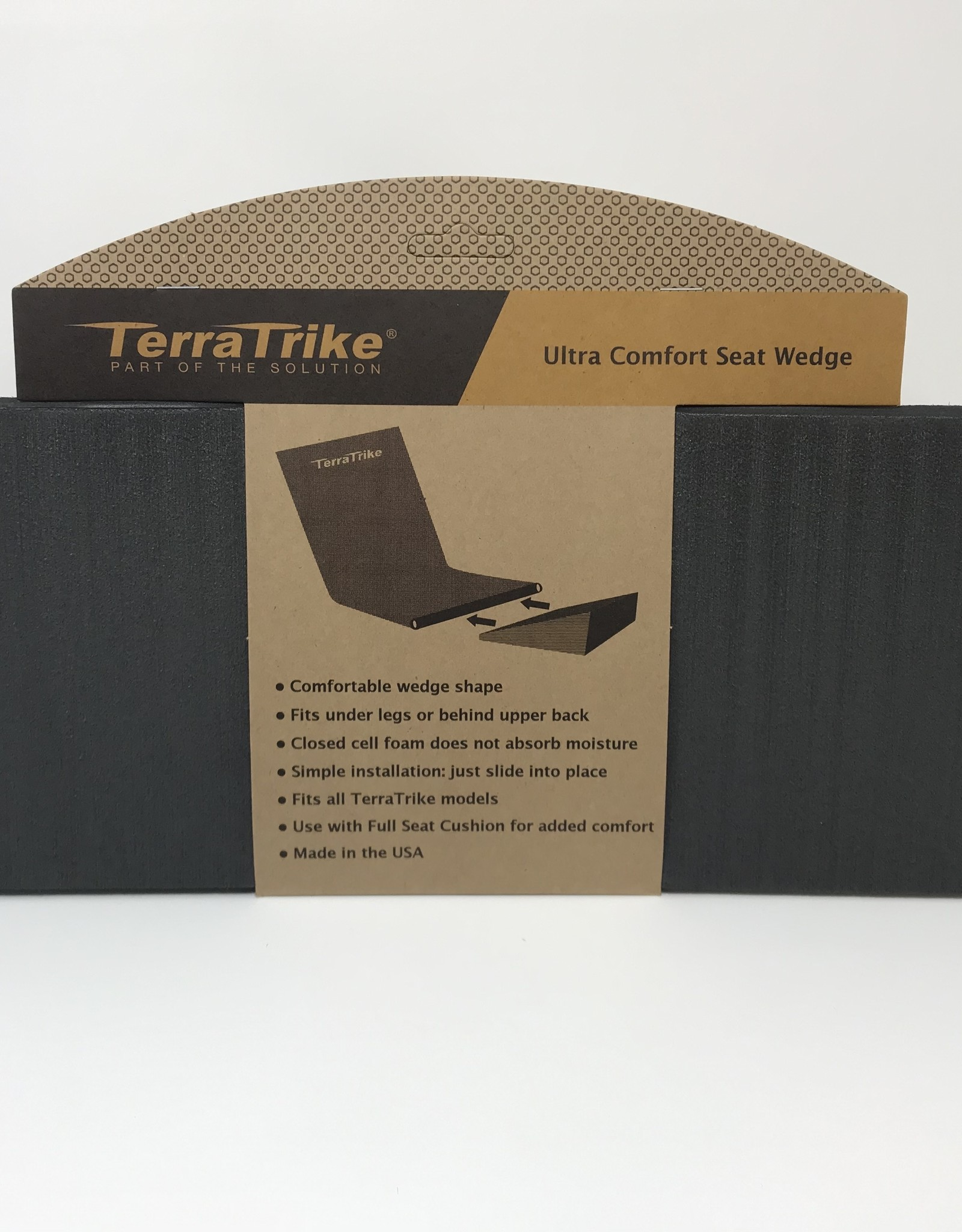 Terratrike Seat Wedge Cushion - Extended Width