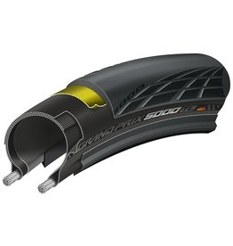 Continental Continental Grand Prix 5000 Tire - 700 x 28, Tubeless, Folding, Black, 180tpi