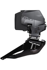 SRAM SRAM Force eTap AXS Front Derailleur - Braze-on, Black, D1